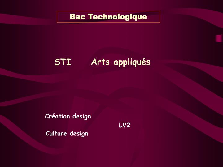 Bac Technologique