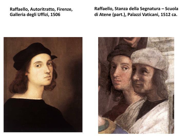 Raffaello, Autoritratto, Firenze, Galleria degli Uffizi, 1506
