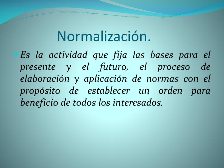 Normalizaci n