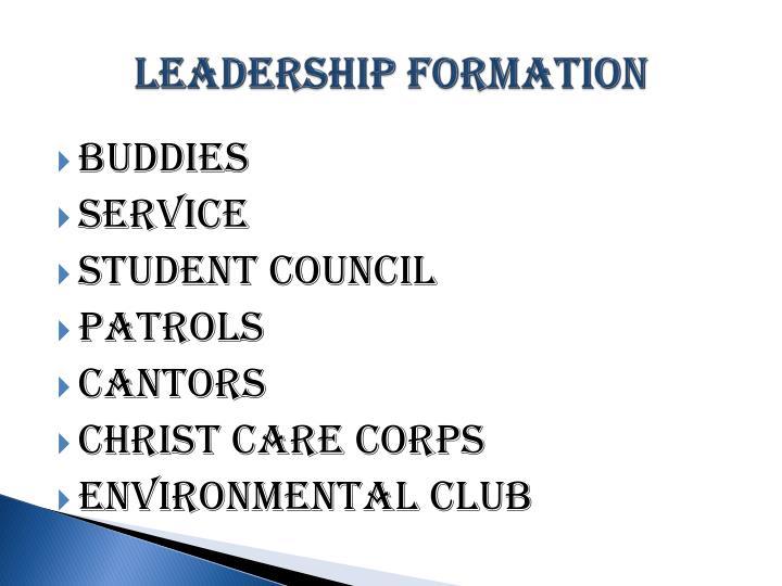Leadership Formation