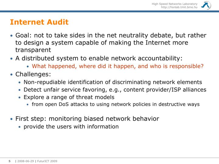 Internet Audit