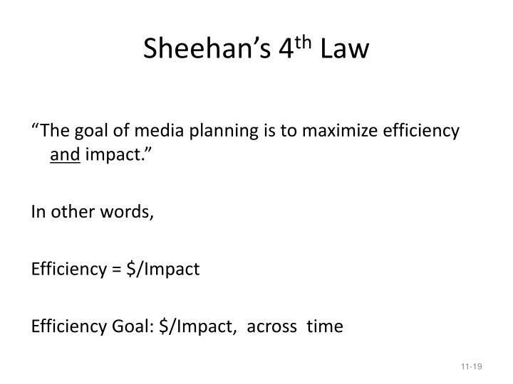 Sheehan's 4