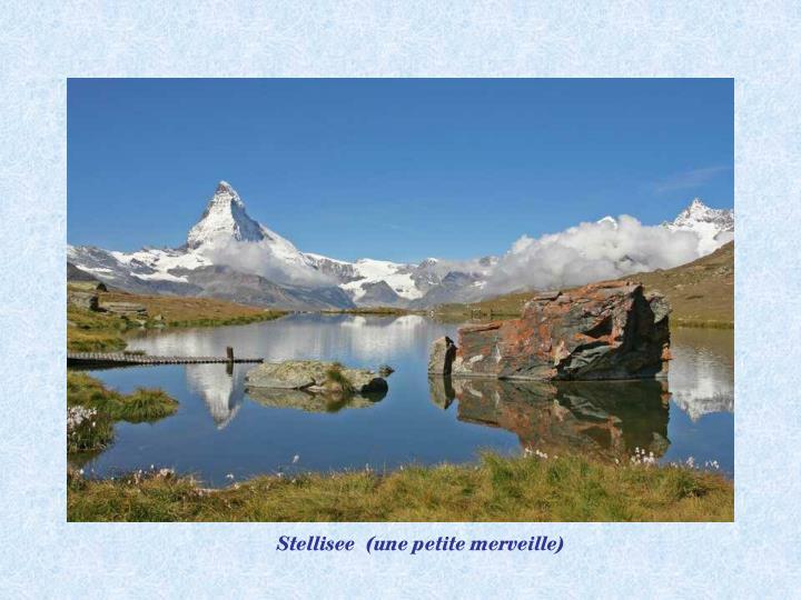 Stellisee  (une petite merveille)