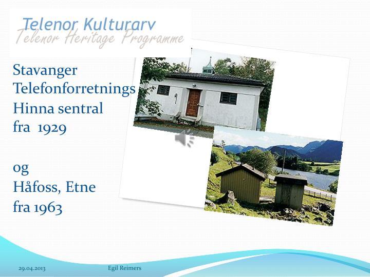 Stavanger Telefonforretnings