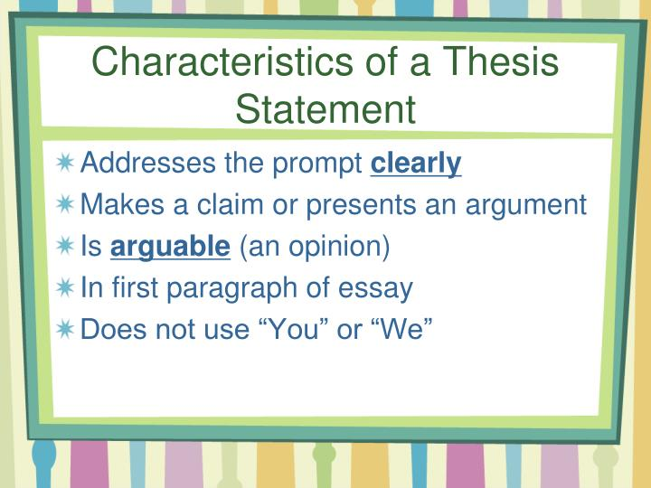 developing a working thesis statement A working thesis statement is a thesis statement that the writer adopts tentatively during the writing process as a means of guiding his or her research, reading and writing a writer is likely to modify the working thesis statement based on insights and information gained in the writing process.