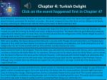 chapter 4 turkish delight click on the event happened first in chapter 4