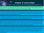 chapter 4 turkish delight click on the second event that happened in chapter 4