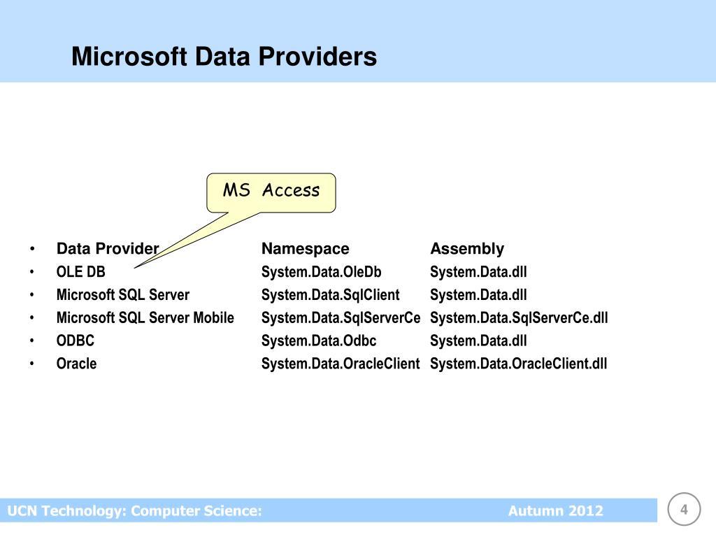 PPT - ADO NET 2 0 PowerPoint Presentation - ID:6954683