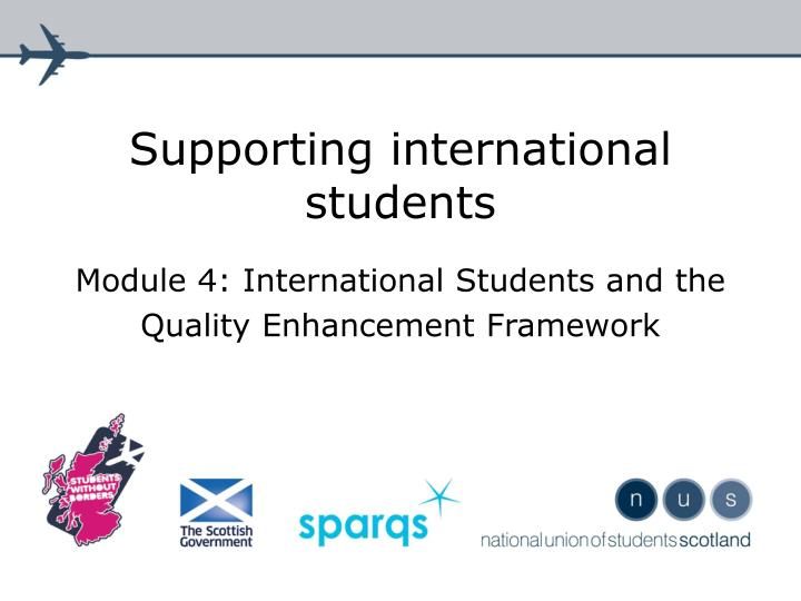 supporting international students n.