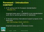pavement i ntroduction context3