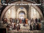 the school at athens by raphael