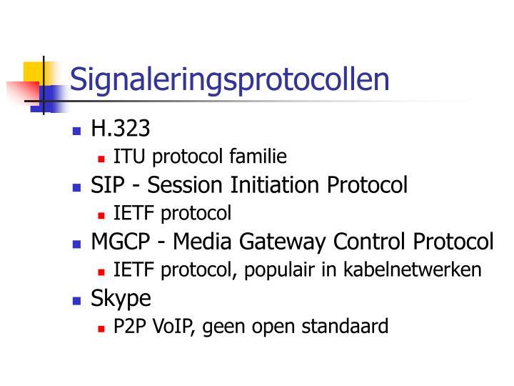 Signaleringsprotocollen