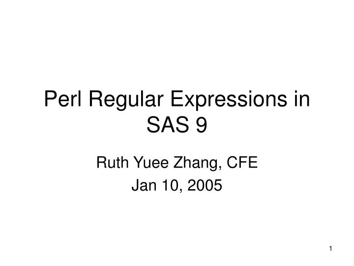 perl regular expressions in sas 9 n.