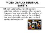 video display terminal safety10