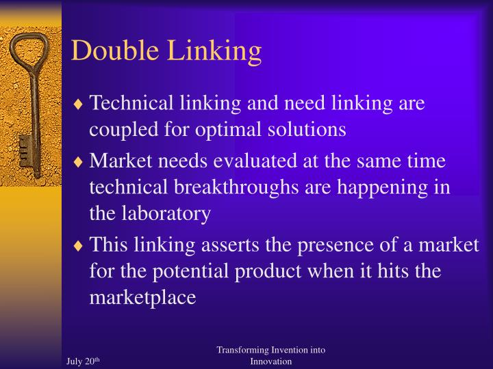 Double Linking