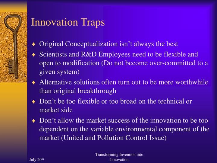 Innovation Traps