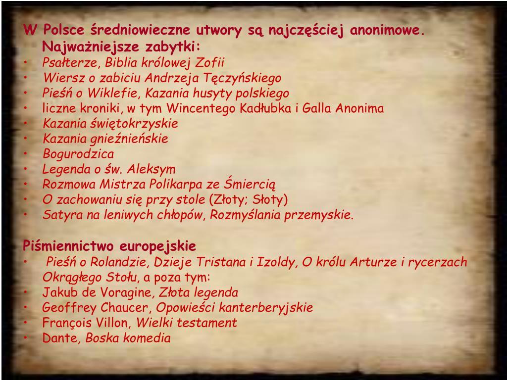 Ppt średniowiecze Powerpoint Presentation Free Download