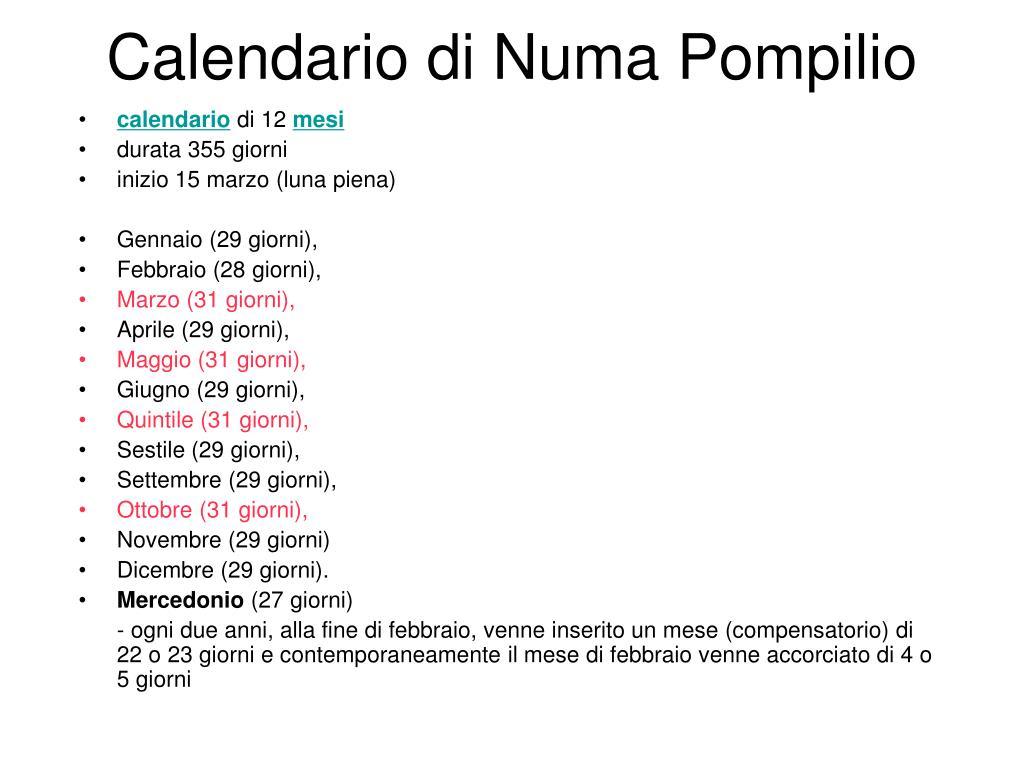Calendario Durata Giorno Notte.Ppt Calendario Powerpoint Presentation Id 6956623