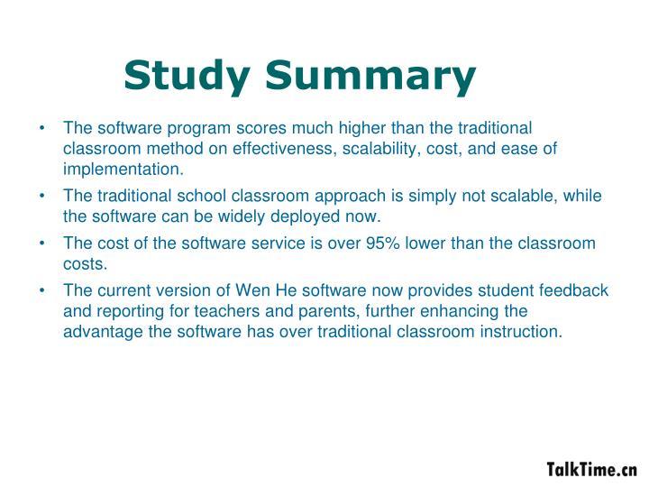 Study Summary