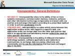 interoperability general definitions