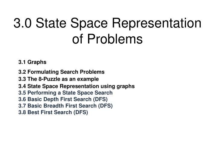 Ppt state-space representation and production systems powerpoint.