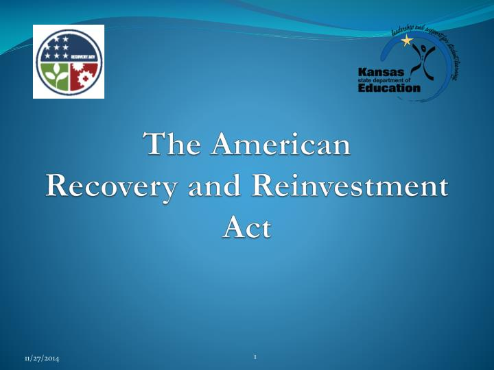 the american recovery and reinvestment act n.