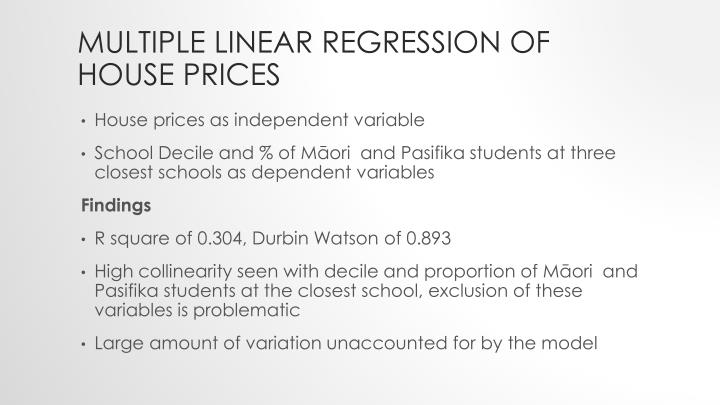 linear regression house pricing Actually this is more than a hint: firstly, you need to write down the linear  regression model that you are given y = 4569 + 143 x where y denotes the  price (in.