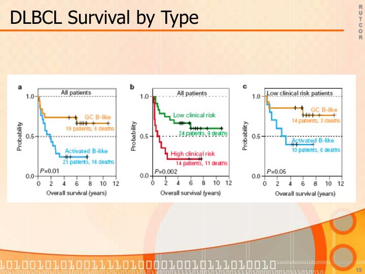 DLBCL Survival by Type