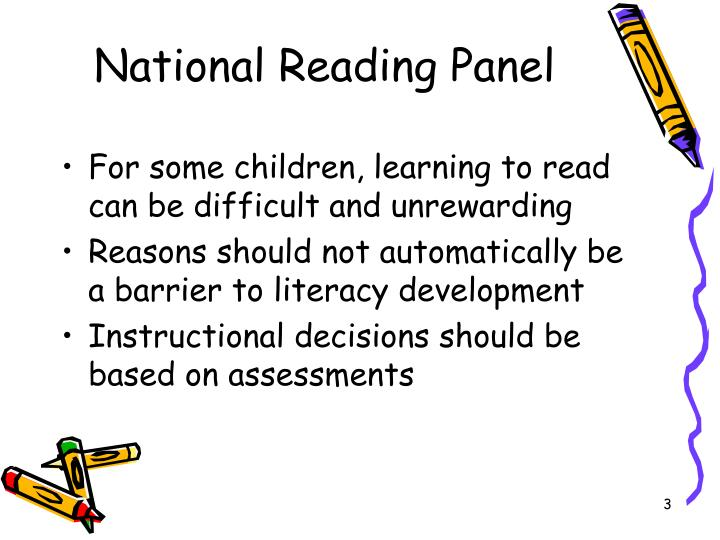 National reading panel1