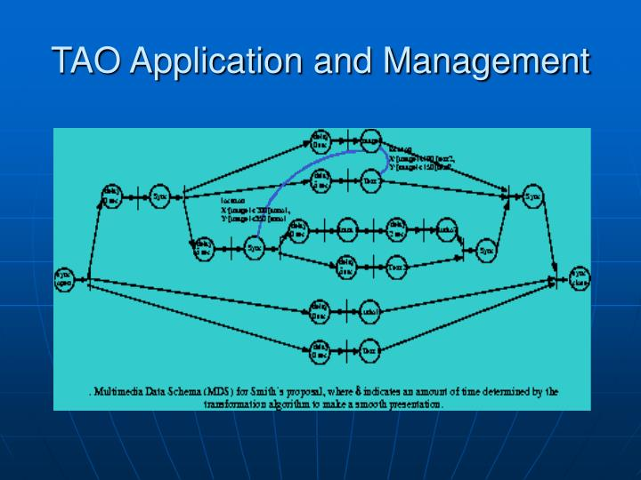 TAO Application and Management