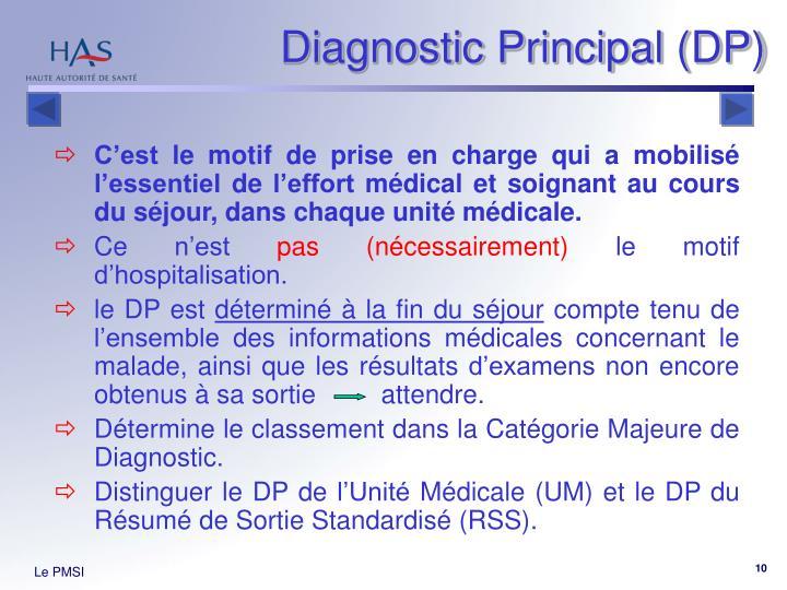 Diagnostic Principal (DP)