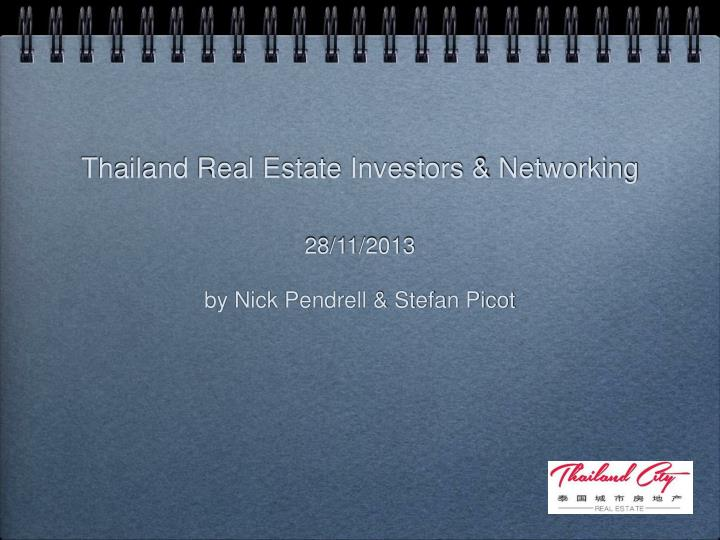 thailand real estate investors networking n.