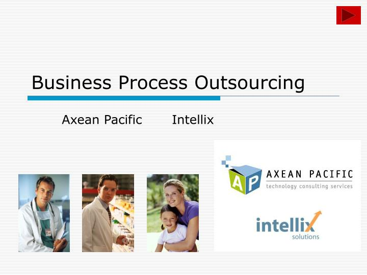 business process outsourcing n.