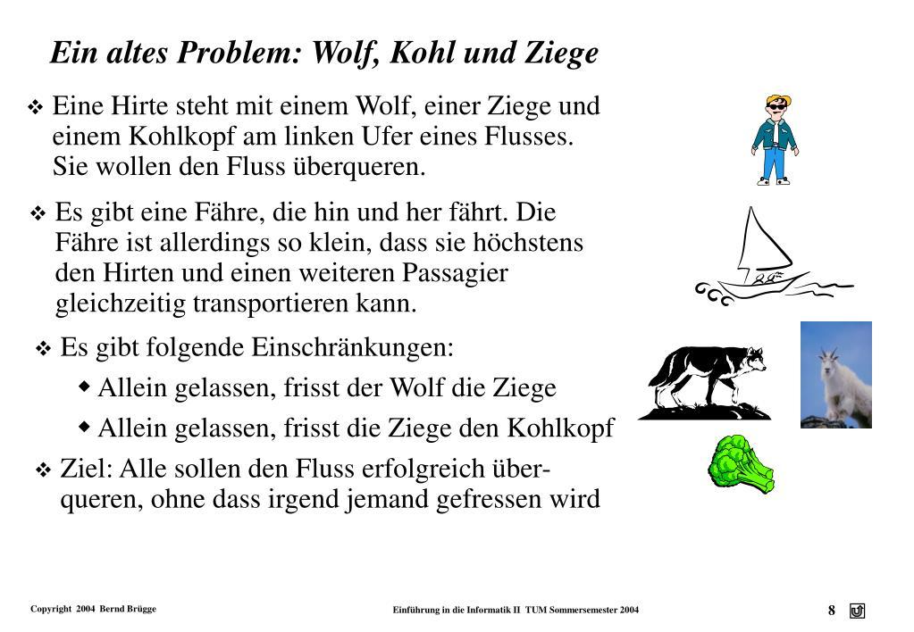 Wolf Ziege Kohl