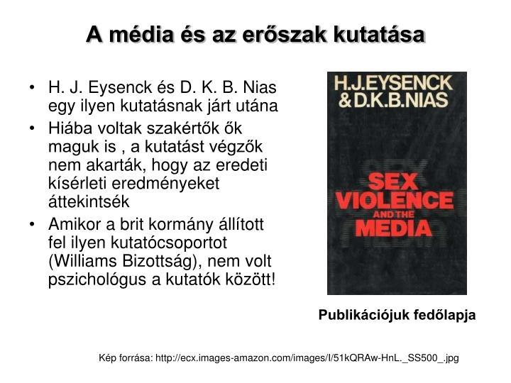 A média és az erőszak kutatása