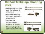 rippod trekking shooting stick