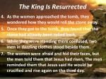 the king is resurrected1