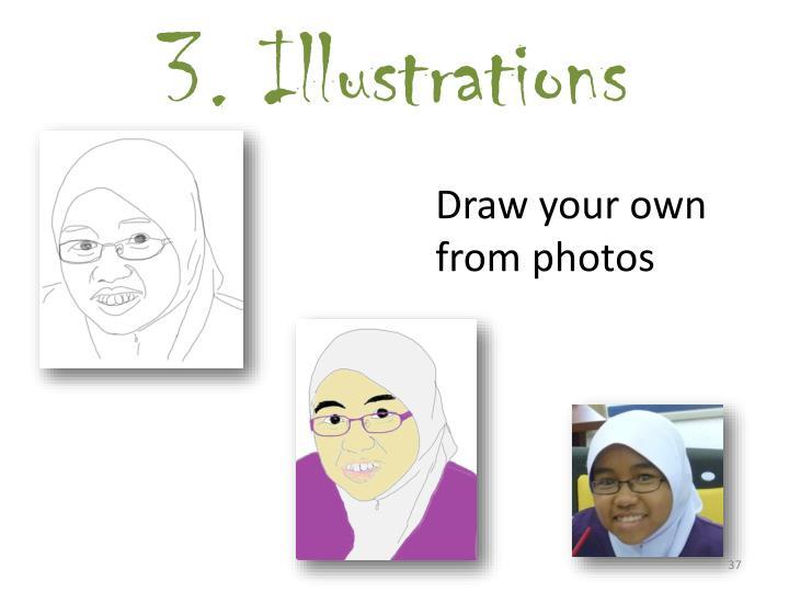3. Illustrations