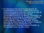 rep blica dominicana marco institucional1