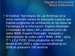 rep blica dominicana marco institucional2