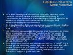 rep blica dominicana marco normativo1