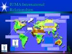iuma international relationships