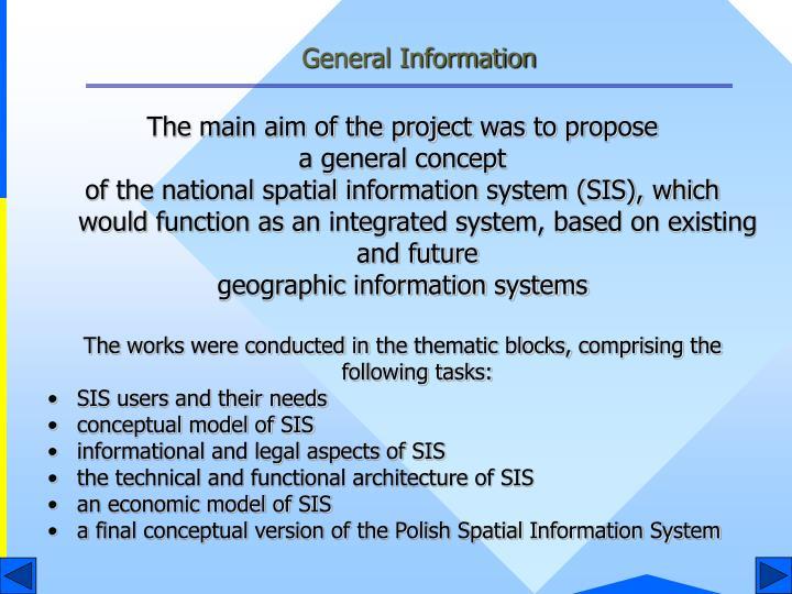 General information1