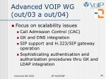 advanced voip wg out 03 a out 04