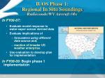 iuos phase 1 regional in situ soundings radiosonde wv aircraft obs