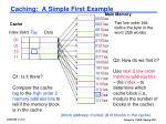 caching a simple first example