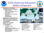 ioos observing subsystem global component