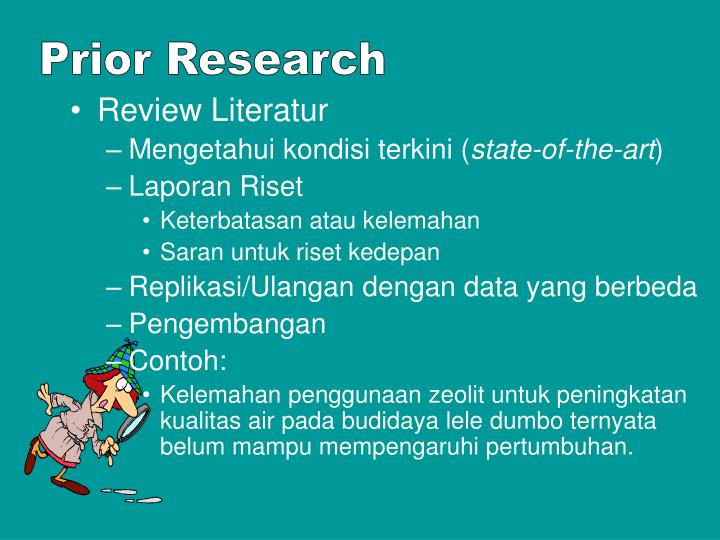Prior Research