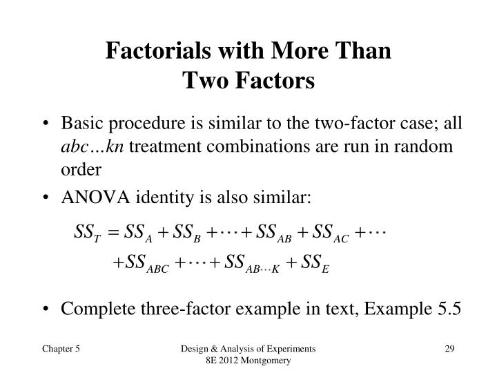 Factorials with More Than