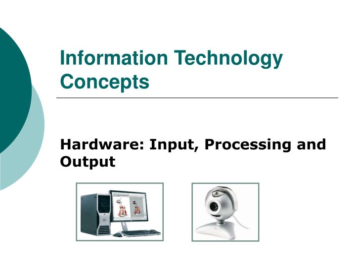 information technology concepts n.